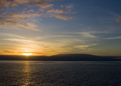 Sunrise South of the Equator