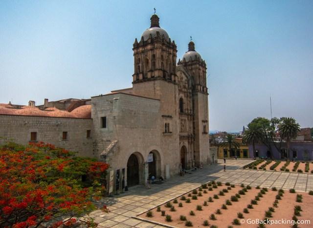 The Church of Santo Domingo de Guzmán