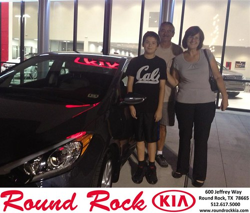 Thank you to Claudia Perez on your new car from Derek Martinez and everyone at Round Rock Kia! by RoundRockKia
