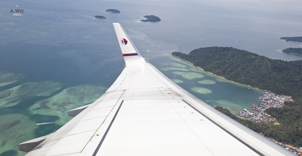 View of the Tropical Waters off Sabah