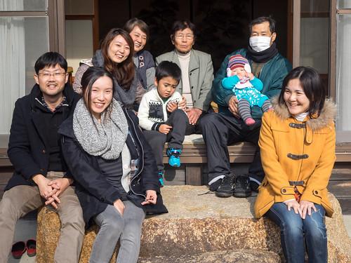 家族写真2014正月