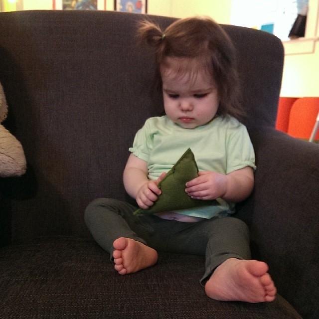 Lil leprechaun #17daysofgreen