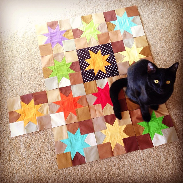 Percy and Wonky Stars Blocks