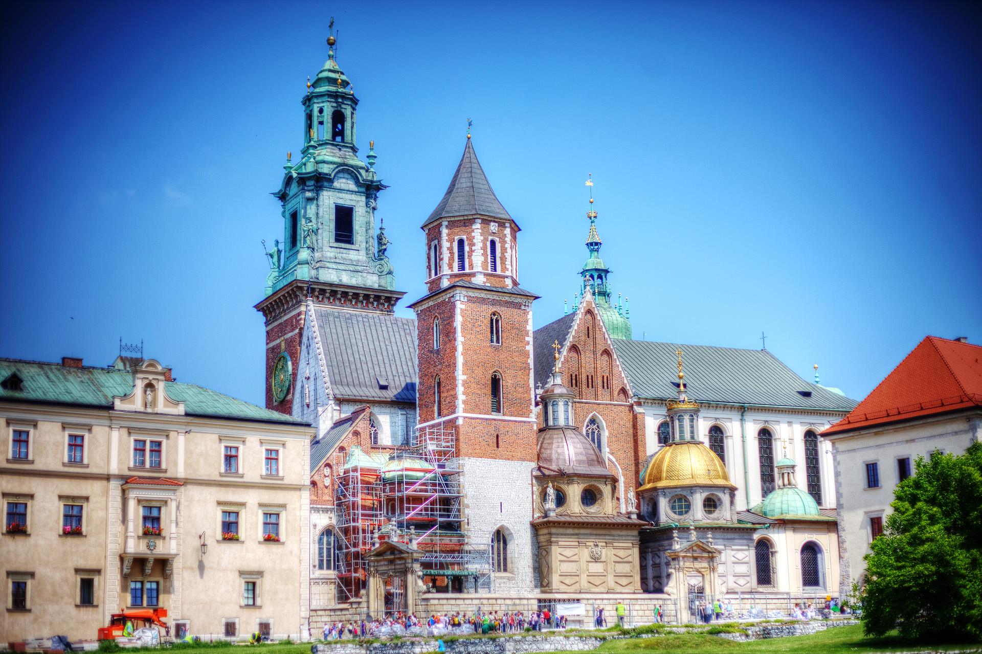Wawel Cathedral, Krakow.