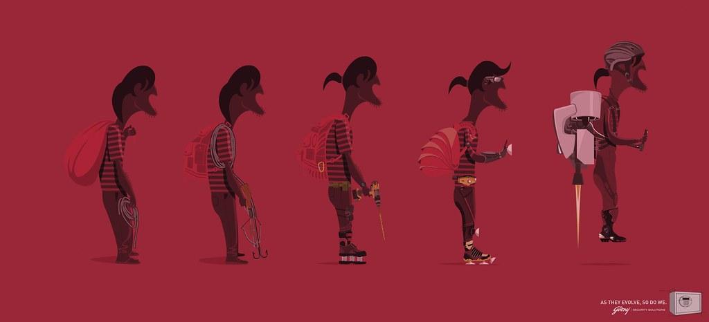 Godrej - Evolution Burgler 2