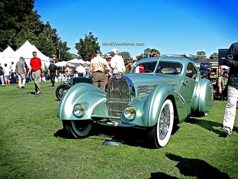 1935 Bugatti Type 57S Aerolithe Coupe