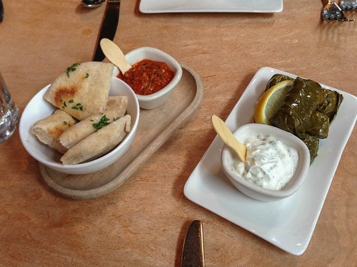 Places to eat in Seattle - Lola's appetizers