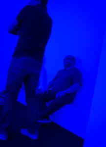 James Turrell - Blue Room with Andy