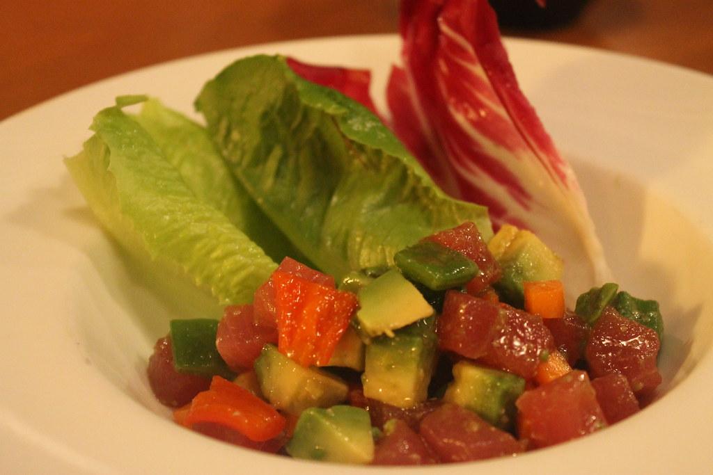 Tartar de atún y aguacate, en 'Mimasu-ya'