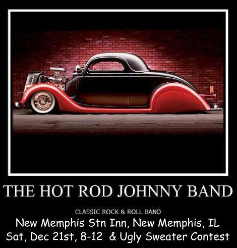 Hot Rod Johnny Band 12-21-13