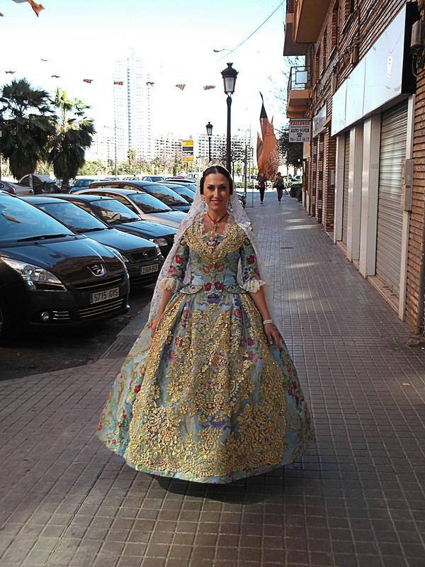 Fallas, fallera, Valencia