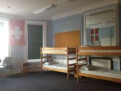 double decker beds, summer camp
