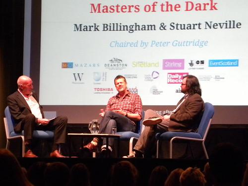 Peter Guttridge, Mark Billingham and Stuart Neville