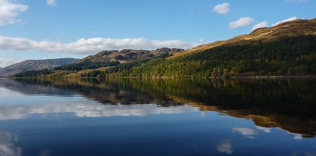 Reflection, Loch Katrine, Scotland
