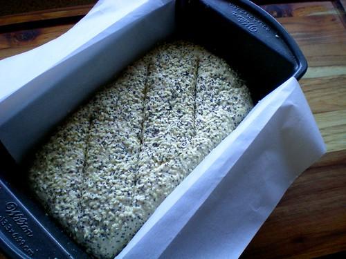 oat soda bread pre-baking
