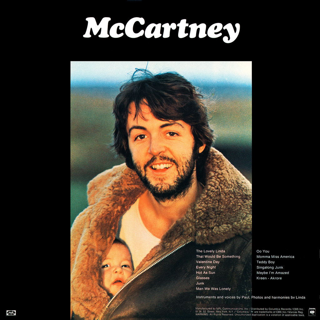 Paul McCartney - McCartney b