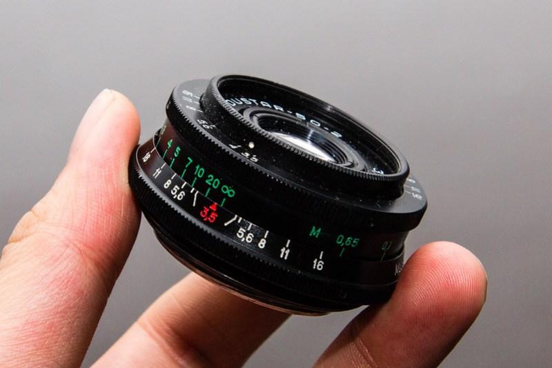 Industar 50-2 M42 lens