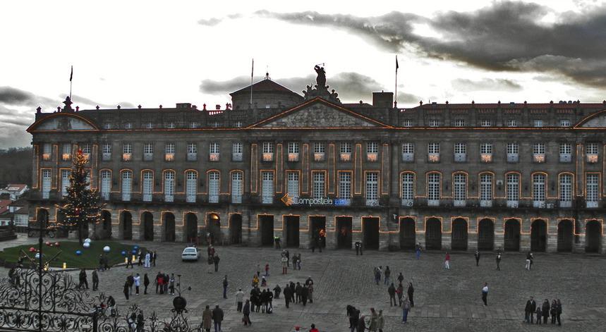 2. Pazo de Raxoi. Compostela. Autor, Amaianos