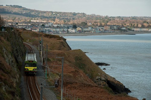 DART-train between Bray and Greystones by ~ Marjolein ~