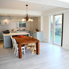 White Kitchen Floor Wood Chairs 裝潢 廚房裝修工程 結婚 幸福 痞客邦