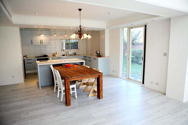 wood floors in kitchen planner tool 裝潢 廚房裝修工程 結婚 幸福 痞客邦 最後做起來遠遠的看真的跟客廳木地板很像