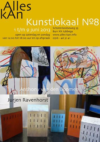 Anthony van den Boomen | Jurjen Ravenhorst by AlleskAn | Kunstlokaal №8