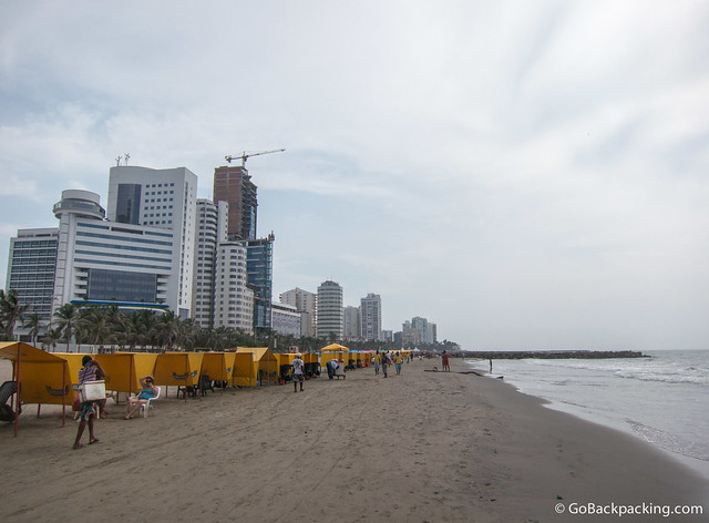 Beaches of Bocagrande