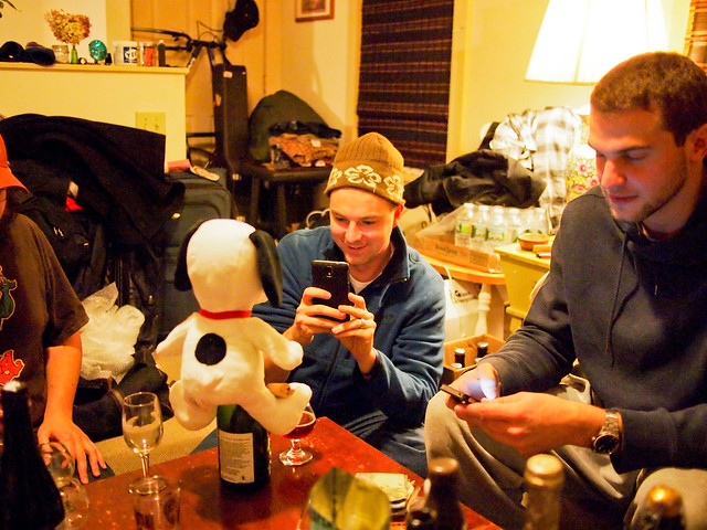 Beer Tasting w/ Snoopy