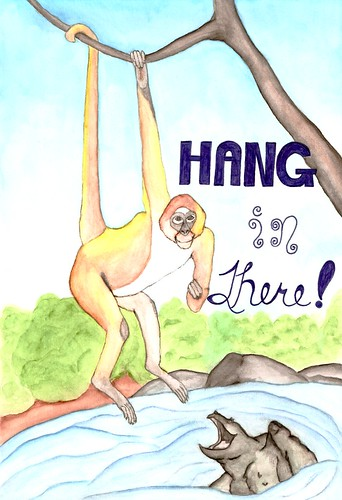 Hang In There by pixygiggles