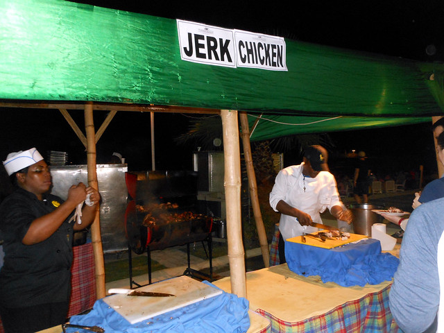 Jerk Chicken stand in Jamaica