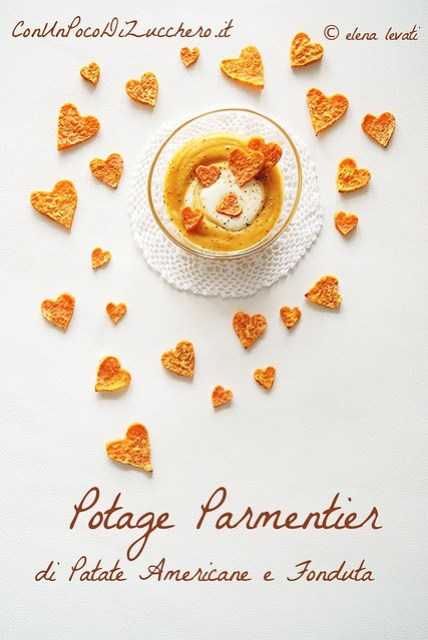 Potage Parmentier - sweet potatoes cream-