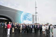 8th Parliamentarians' Day at the 'Space for Earth' pavilion at ILA