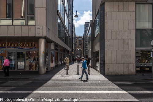 """View From Luas Tram Stop """"Jervis"""" On Abbey Street In Dublin by infomatique"""