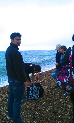 Beach clean-up, Brighton