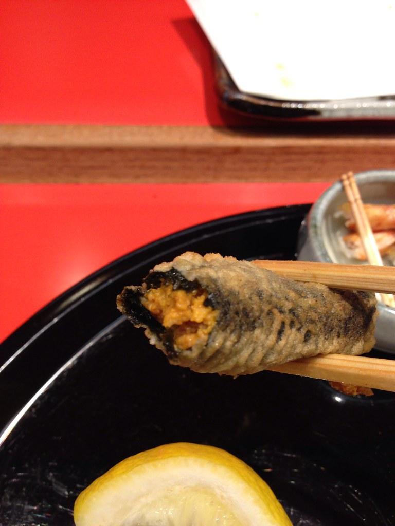 Uni (Sea Urchin) Tempura