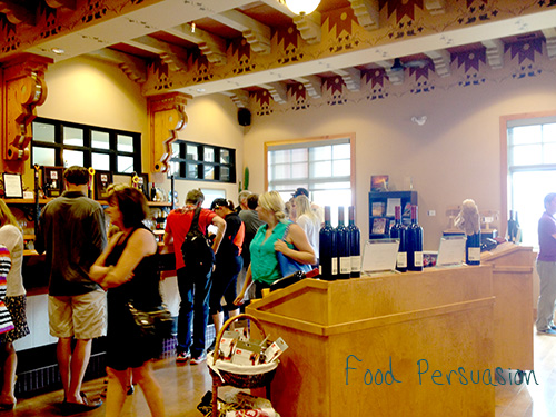 burrowing owl wine tasting room