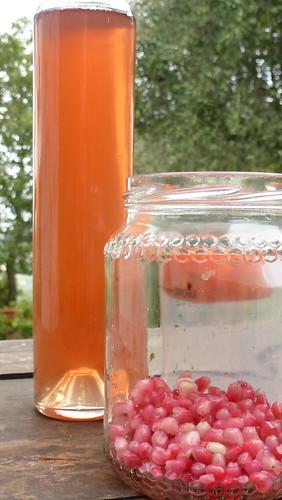 Pomgranate & Star anise Vinegar - Acet alla melagrana e anice stellato