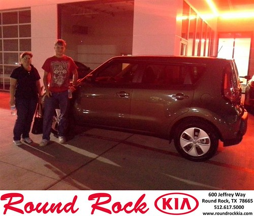 Thank you to Helaine And Phillip Hamline on your new 2014 #Kia #Soul from Eric Armendariz and everyone at Round Rock Kia! #LoveMyNewCar by RoundRockKia