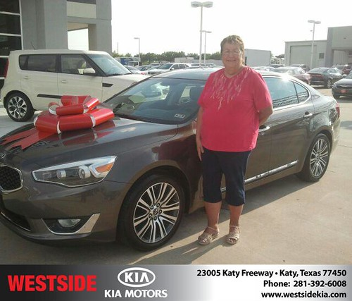 Happy Birthday to Sally Heflin from Gil Guzman and everyone at Westside Kia! #BDay by Westside KIA