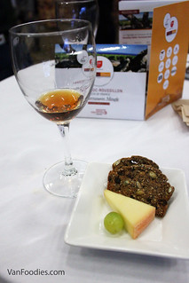 Rivesaltes Ambre with Cheese