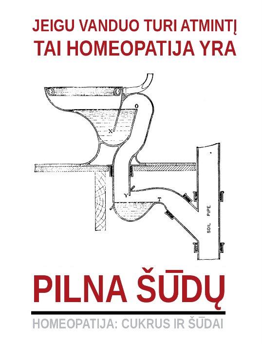 Jeigu vanduo turi atmintį, tai homeopatija yra pilna šūdo