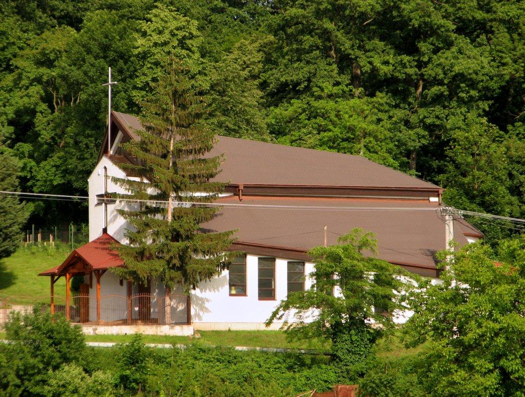 Katolícky kostol vo V. Krtíši