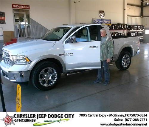 Happy Anniversary to Carole Kowitt on your 2013 #Dodge #Ram15 from David Walls  and everyone at Dodge City of McKinney! #Anniversary by Dodge City McKinney Texas