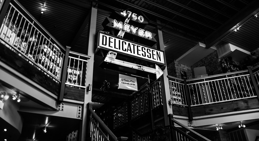Meyer Delicatessen sign