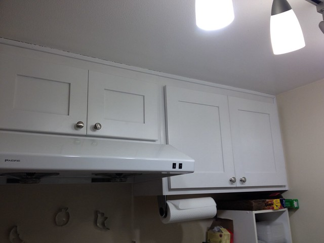 Before cabinets