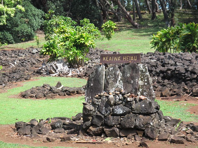 Pictures from the Keaiwa Heiau