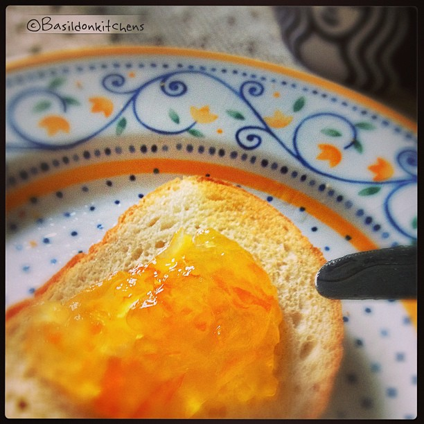July 14 - edible {Sunday morning toast & marmalade} #fmsphotoaday #edible #toast #marmalade #breakfast