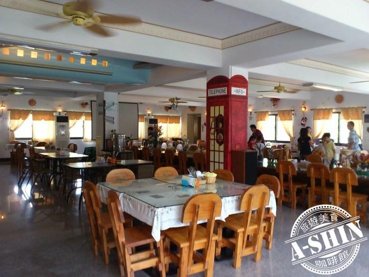 第一酒廠-鐵道之鄉酒莊:2F用餐區