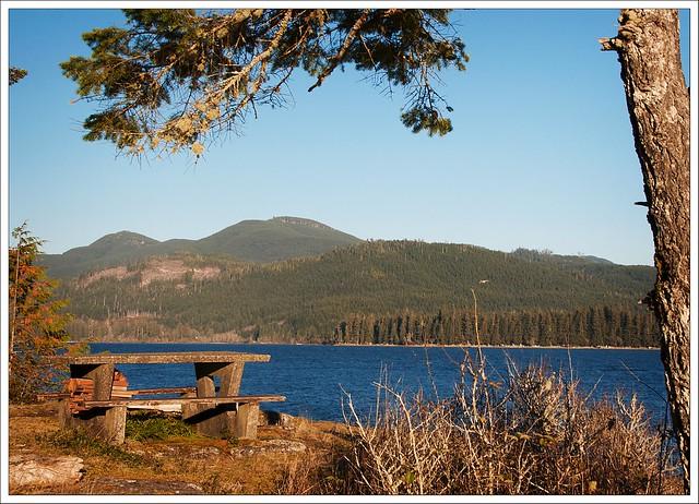 Nitinat Lake Rest Stop