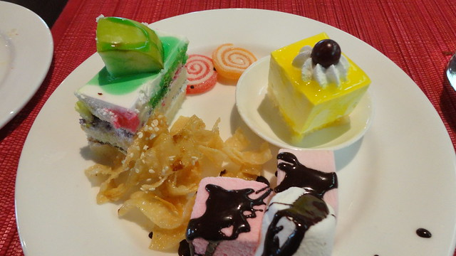 Desserts at Chutney Chang
